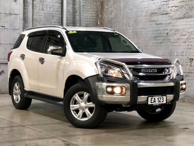 Used Isuzu MU-X MY15 LS-T Rev-Tronic Mile End South, 2016 Isuzu MU-X MY15 LS-T Rev-Tronic White 5 Speed Sports Automatic Wagon