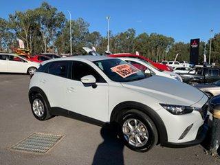 2015 Mazda CX-3 DK2W7A Maxx SKYACTIV-Drive Ceramic White 6 Speed Sports Automatic Wagon.