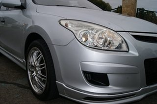 2009 Hyundai i30 FD MY09 SX Silver 5 Speed Manual Hatchback.
