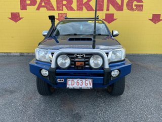 2012 Toyota Hilux KUN26R MY12 SR5 Double Cab Blue 5 Speed Manual Utility.