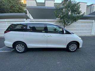 2016 Toyota Tarago ACR50R MY13 GLi White 7 Speed Constant Variable Wagon.