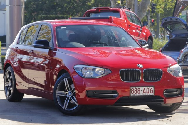 Used BMW 116i F20 116i Toowoomba, 2012 BMW 116i F20 116i Red 8 Speed Sports Automatic Hatchback