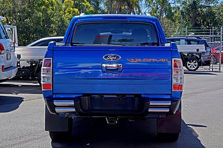 2010 Ford Ranger PK Wildtrak Crew Cab Blue 5 Speed Manual Utility