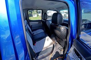 2010 Ford Ranger PK Wildtrak Crew Cab Blue 5 Speed Manual Utility