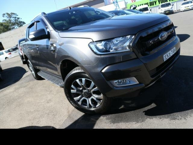 Used Ford Ranger Kingswood, Ford 2018 MY DOUBLE PU WILDTRAK . 3.2D 6M 4X4