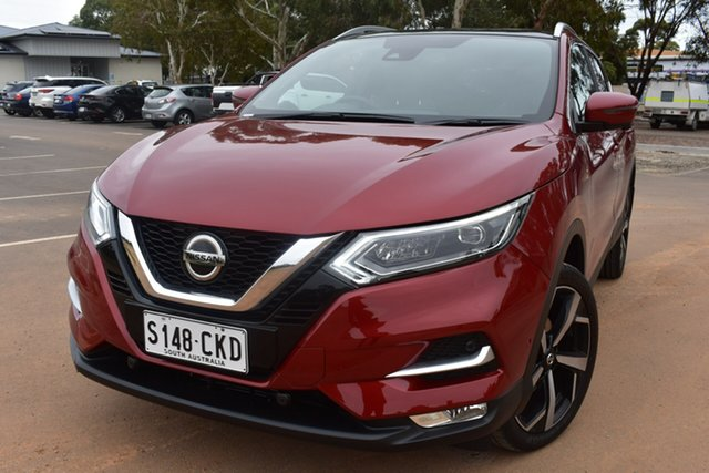 Demo Nissan Qashqai J11 Series 3 MY20 Ti X-tronic St Marys, 2020 Nissan Qashqai J11 Series 3 MY20 Ti X-tronic Magnetic Red 1 Speed Constant Variable Wagon