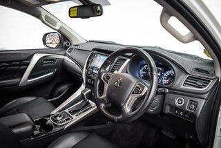 2016 Mitsubishi Pajero Sport QE MY16 Exceed White 8 Speed Sports Automatic Wagon