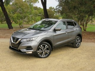 2017 Nissan Qashqai J11 Series 2 ST-L X-tronic Silver 1 Speed Constant Variable Wagon.