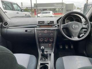 2008 Mazda 3 BK10F2 MY08 Neo Sport Silver 5 Speed Manual Sedan