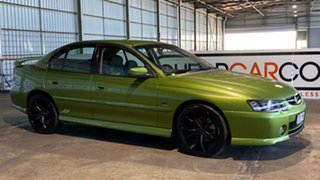 2003 Holden Commodore VY II SS Green 4 Speed Automatic Sedan.