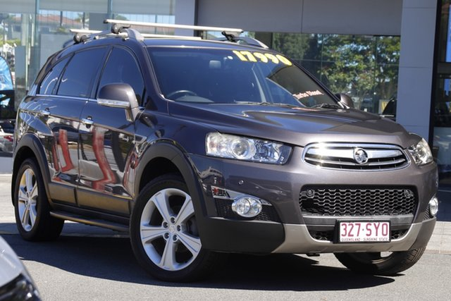 Used Holden Captiva CG MY13 7 AWD LX Mount Gravatt, 2013 Holden Captiva CG MY13 7 AWD LX Grey 6 Speed Sports Automatic Wagon