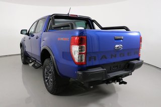 2020 Ford Ranger PX MkIII 2021.25MY FX4 Max Blue 10 Speed Sports Automatic Double Cab Pick Up