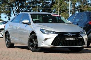 2016 Toyota Camry ASV50R Atara SX Silver Metallic 6 Speed Sports Automatic Sedan.