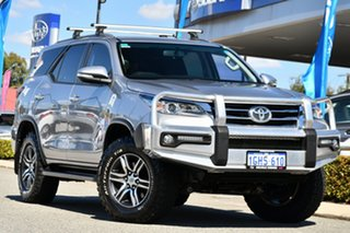 2017 Toyota Fortuner GUN156R GXL Silver 6 Speed Automatic Wagon.