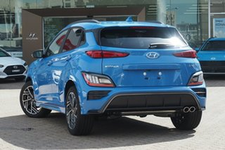 2020 Hyundai Kona Os.v4 MY21 N-Line D-CT AWD Premium Phantom Black 7 Speed.