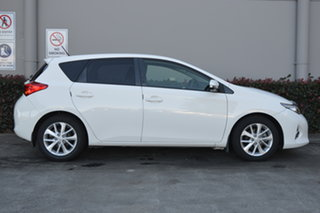 2013 Toyota Corolla ZRE182R Ascent Sport White 6 Speed Manual Hatchback