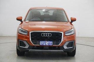 2018 Audi Q2 GA MY18 design S Tronic Orange 7 Speed Sports Automatic Dual Clutch Wagon.
