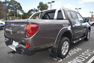 2011 Mitsubishi Triton MN MY11 GLX-R Double Cab Brown 5 Speed Manual Utility