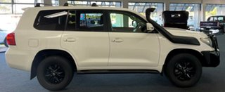 2013 Toyota Landcruiser VDJ200R MY13 GXL White 6 Speed Sports Automatic Wagon.