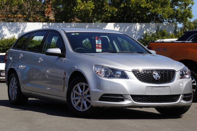 Used Holden Commodore VF II MY16 Evoke Sportwagon Mount Gravatt, 2016 Holden Commodore VF II MY16 Evoke Sportwagon Silver 6 Speed Sports Automatic Wagon
