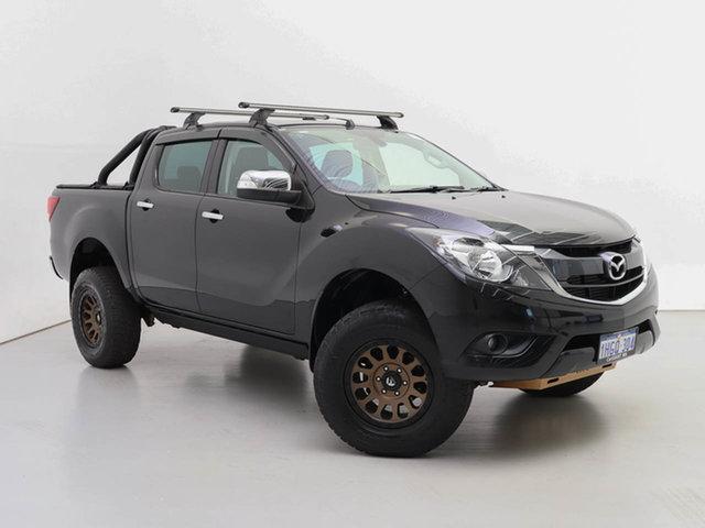 Used Mazda BT-50 MY18 GT (4x4), 2018 Mazda BT-50 MY18 GT (4x4) Black 6 Speed Automatic Dual Cab Utility