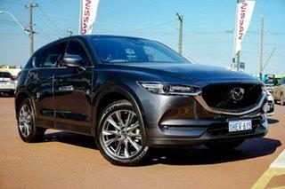 2019 Mazda CX-5 KF4WLA Akera SKYACTIV-Drive i-ACTIV AWD Grey 6 Speed Sports Automatic Wagon.