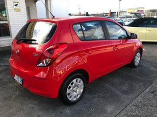 2012 Hyundai i20 PB MY12 Active Electric Red 4 Speed Automatic Hatchback.