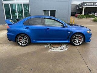 2009 Mitsubishi Lancer CJ MY10 Evolution TC-SST MR Blue/260610 6 Speed Sports Automatic Dual Clutch.