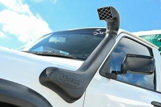 2005 Nissan Patrol GU II DX White 5 Speed Manual Cab Chassis