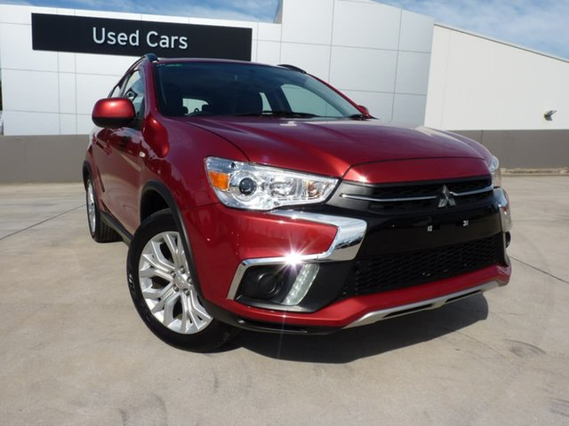 Pre-Owned Mitsubishi ASX XC MY19 ES 2WD Blacktown, 2019 Mitsubishi ASX XC MY19 ES 2WD Red 1 Speed Constant Variable Wagon
