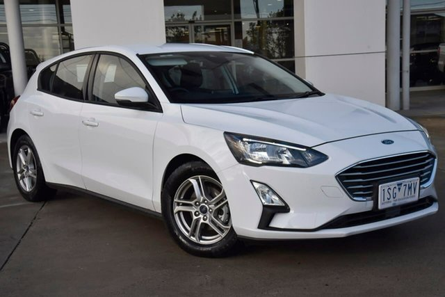 Used Ford Focus SA 2019.75MY Trend Oakleigh, 2019 Ford Focus SA 2019.75MY Trend White 8 Speed Automatic Hatchback