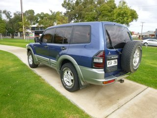 2000 Mitsubishi Pajero NM GLS Blue Manual Wagon