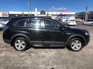 2013 Holden Captiva CG Series II MY12 7 AWD CX Black/Grey 6 Speed Sports Automatic Wagon.