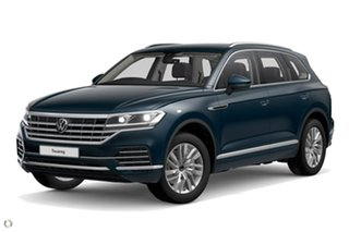 2021 Volkswagen Touareg CR MY21 170TDI Tiptronic 4MOTION Blue 8 Speed Sports Automatic Wagon.