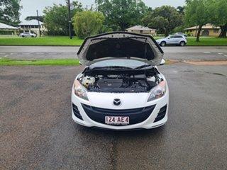 2010 Mazda 3 BL Neo White 5 Speed Automatic Sedan