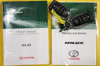 2016 Toyota Hilux GUN136R SR5 Hi-Rider Blue 6 Speed Manual Dual Cab Utility