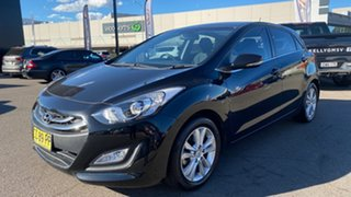 2014 Hyundai i30 GD MY14 Elite Black 6 Speed Sports Automatic Hatchback