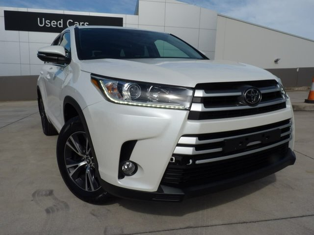 Pre-Owned Toyota Kluger GSU55R GX AWD Blacktown, 2019 Toyota Kluger GSU55R GX AWD Pearl White 8 Speed Sports Automatic Wagon