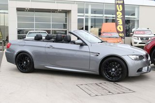 2010 BMW M3 E93 MY10.5 M-DCT Grey 7 Speed Sports Automatic Dual Clutch Convertible.