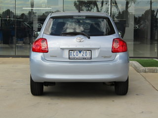 2009 Toyota Corolla ZRE152R Ascent Blue 4 Speed Automatic Hatchback