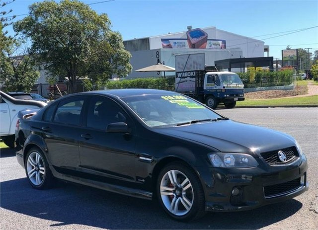 Used Holden Commodore VE II SV6 Archerfield, 2011 Holden Commodore VE II SV6 Black 6 Speed Sports Automatic Sedan