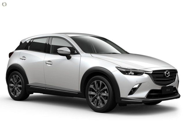 New Mazda CX-3 DK2W7A sTouring SKYACTIV-Drive FWD Waitara, 2021 Mazda CX-3 DK2W7A sTouring SKYACTIV-Drive FWD White 6 Speed Sports Automatic Wagon