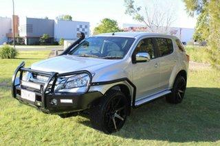 2015 Isuzu MU-X MY15 LS-U Rev-Tronic Silver 5 Speed Sports Automatic Wagon.