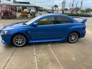2009 Mitsubishi Lancer CJ MY10 Evolution TC-SST MR Blue/260610 6 Speed Sports Automatic Dual Clutch