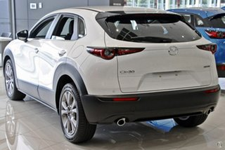 2021 Mazda CX-30 DM2W7A G20 SKYACTIV-Drive Evolve White 6 Speed Sports Automatic Wagon