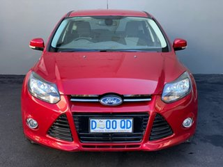 2013 Ford Focus LW MkII Sport Red 5 Speed Manual Hatchback.