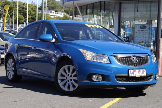 Used Holden Cruze JH Series II MY12 CDX Mount Gravatt, 2012 Holden Cruze JH Series II MY12 CDX Blue 6 Speed Sports Automatic Hatchback