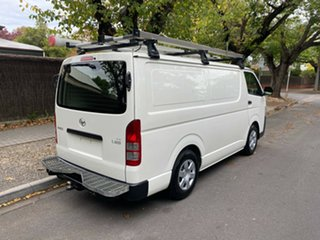 2016 Toyota HiAce KDH201R LWB White 4 Speed Automatic Van