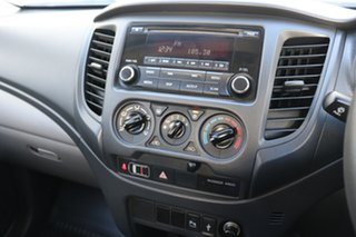 2016 Mitsubishi Triton MQ MY16 GLX Double Cab White 5 speed Automatic Utility