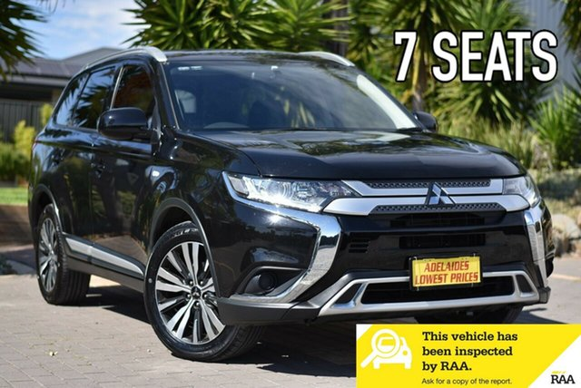Used Mitsubishi Outlander ZL MY18.5 ES 2WD Morphett Vale, 2018 Mitsubishi Outlander ZL MY18.5 ES 2WD Black 6 Speed Constant Variable Wagon